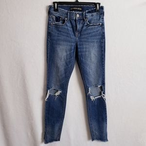 Express Ankle Legging Mid-Rise Jeans